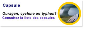Capsule - Ouragan, cyclone ou typhon.