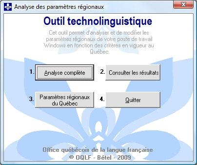 Outil technolinguistique
