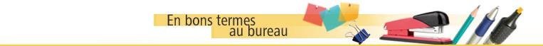 En bons termes au bureau - Dictionnaire office de la langue francaise ...